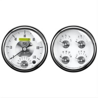 "AUTOMETER PRESTIGE 5"" GAUGE KIT AU2008 TACH/SPEEDO/TEMP/OIL/VOLT/FUEL"