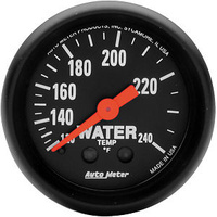 "AUTOMETER Z-SERIES 2-1/16"" MECH WATER TEMPERATURE GAUGE 120-240°F AU2607"