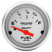 "AUTOMETER ULTRA LITE FUEL GAUGE  2-1/16"" AU4316"