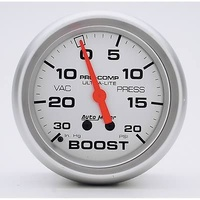"AUTOMETER ULTRA LITE 2-5/8"" MECH BOOST - VACUUM GAUGE 30 In.Hg/20 PSI AU4401"