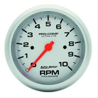 "Autometer AU4497 Ultralite 3-3/8"" In Dash Electronic Tachometer 0-10000 RPM"