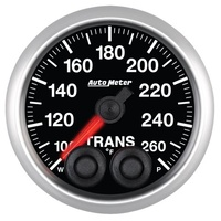 "AutoMeter AU5658 Elite Transmission Temperature Gauge 2-1/16"" Programmable Warning Function 100-260°F"