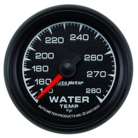 "AutoMeter AU5931 ES 2-1/16"" Mech Water Temperature Gauge 140-280°F"