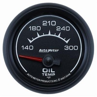 "AutoMeter AU5948 ES 2-1/16"" Elecal Oil Temperature Gauge 140-300°F"