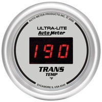 "AUTOMETER AU6549 Ultra-Lite Digital 2-1/16"" Trans Temperature Gauge 0-300°F"