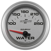 "AUTOMETER ULTRA LITE II 2-5/8"" ELEC WATER TEMPERATURE GAUGE 100-250°F AU7737"