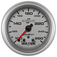 "AUTOMETER AU7755 ULTRA LITE II 2-5/8"" WATER TEMPERATURE GAUGE PEAK MEMORY & WARN"