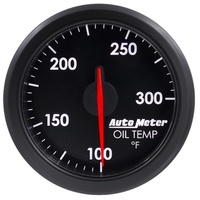 "AutoMeter AU9140-T Airdrive 2-1/16"" Elec Oil Temperature Gauge 100-300°F Black"