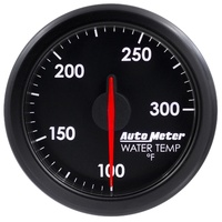 "AutoMeter AU9154-T Airdrive 2-1/16"" Elec Water Temperature Gauge 100-300°F Black"