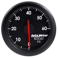 "AUTOMETER AU9160-T AIRDRIVE 2-1/16"" ELECTRIC BOOST GAUGE 0-60 PSI"