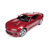 2016 CHEVROLET CAMARO SS 1:18 SCALE DIECAST MODEL AW230 GARNET RED