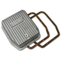 B&M CAST ALLOY DEEP TRANSMISSION PAN BM40291 SUIT FORD AOD, AODE & 4R70W TRANS