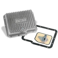 B&M ALLOY TRANSMISSION PAN DEEP POWERGLIDE BM70280