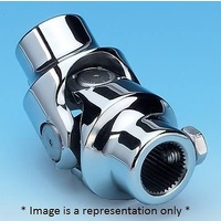 "BORGESON POLISHED S/S UNIVERSAL STEERING JOINT TORANA 9/16"" X 9/16"" BOR127979"