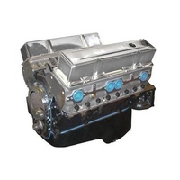 BluePrint BP38313CT1 Chevrolet 383 Stroker Long Engine 430HP 450FT/LB Torque Alloy Heads