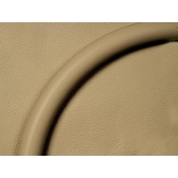"BILLET SPECIALTIES BS29002 14"" STEERING WHEEL HALF WRAP TAN LEATHER"