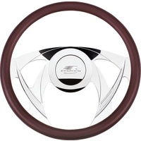 "14"" Billet ""Sniper"" Steering Wheel (Half Wrap Horn Button and Adapter Sold Separately) (BS30955)"