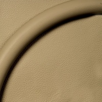 "15.5"" Steering Wheel Leather Half Wrap (Tan Leather) (BS33002)"