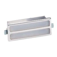 "BILLET SPECIALTIES POLISHED ALLOY RECTANGULAR INTERIOR LIGHT 3.625 x1.5"" BS60120"
