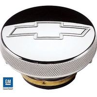 BILLET SPECIALTIES BS75320 BOWTIE LOGO 16 PSI POLISHED BILLET ALLOY RADIATOR CAP