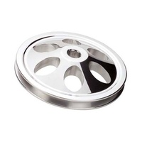 BILLET SPECIALTIES SAGINAW KEYWAY POWER STEERING PULLEY 1 GROOVE BS86120