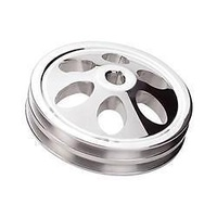 BILLET SPECIALTIES POWER STEERING PULLEY 2 V SAGINAW WITH KEYWAY BS86220