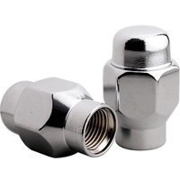 BILLET SPECIALTIES ET STYLE CONICAL SEAT WHEEL NUTS BS999970 CLOSED 7/16-20, X10