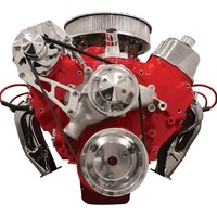 BILLET SPECIALTIES CHEV BB SERPENTINE CONV. KIT TOP MOUNT ALTERNATOR BSFM2210PC