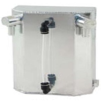 POLISHED ALUMINIUM OIL CATCH TANK 1 LITRE CAL2862