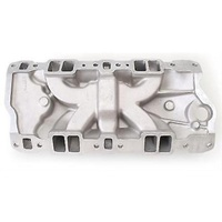 CLEARANCE - Edelbrock ED2701 Chev 262-400 Performer EPS Dual Plane Intake Manifold 0-5500RPM
