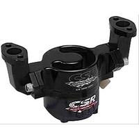 CSR Performance CSR901NBLK Chev Small Block Billet Aluminum Electric Water Pump