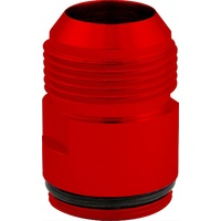 "CVR CVR8016R Proflo Water Pump -16an to 1-3/16"" Male O-Ring Inlet Fitting Red"