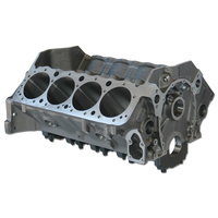 "Dart DA31122211 Dart Iron Eagle Cast Iron SB Chev Engine Block with 4-Bolt Steel Caps (4.125"" Bore, 9.025"" Deck, 400 Mains)"