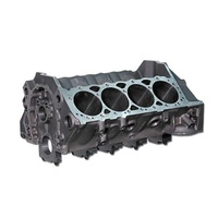 "DART SHP CAST IRON ENGINE BLOCK 4.000"" BORE 9.025"" DECK 350 MAINS DA31161111"
