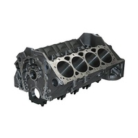 "Dart DA31161212 Dart SHP Pro Cast Iron SB Chev Engine Block with 4-Bolt Billet Caps (4.125"" bore, Big block Chevy cam bore, .904"" Lifter bores)"