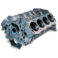 "Dart DA31384275 Dart Iron Eagle Cast Iron Ford 302W Engine Block with 4-Bolt Steel Caps (4.125"" Bore, 8.200"" Deck, 302 Mains)"