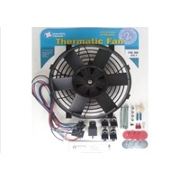 "DAVIES CRAIG 9"" THERMO FAN 12V WITH WIRING DC0060"