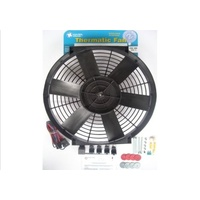 "DAVIES CRAIG 16"" THERMO FAN KIT 12V WITH WIRING DC0066"