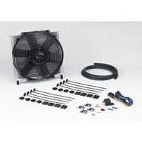 "DAVIES CRAIG HYDRA-COOL 21 PLATE TRANS COOLER & 8"" FAN COMBO PACK DC698"