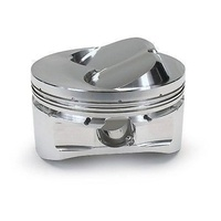 "DIAMOND RACING DOME TOP PISTONS & RINGS CHEV SB 4.125"" BORE 9CC DOME DIA11936"