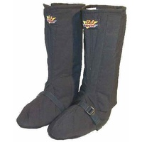 DJ SAFETY FUNNY CAR NOMEX DRIVING BOOTS SFI 3-3-20 SIZE MEDIUM BLACK DJ051002