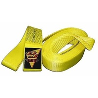 "DJ SAFETY 3"" WIDE TOW STRAP LOOP ENDS 30 FOOT LONG DJ241330"