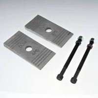 "DJM Suspension DJM-ACC-4PSK Pinion Angle Shims 4 Degrees 2.50"" Wide"