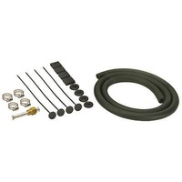 DERALE BASIC SINGLE HOSE TRANSMISSION COOLER INSTALATION KIT 4 FT HOSE 12006