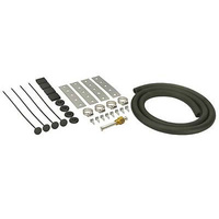 DERALE DP13006 UNIVERSAL TRANSMISSION COOLER INSTALATION KIT 4 FT HOSE & HARDWARE