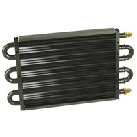 "DERALE 7000 SERIES TRANSMISSION COOLER -6AN 13-1/2""L X 7-5/8""H X 3/4""W DP13316"