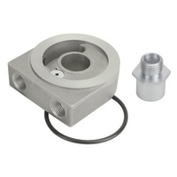 "DERALE DP25770 LOW PROFILE SANDWICH ADAPTER KIT WITH PRESSURE RELIEF 3/4""-16MM"