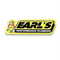 "EAR-10000ERL Earl's Performance Metal Sign 24"" x 8.25"""