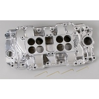 EDELBROCK C-66-R DUAL QUAD INTAKE MANIFOLD CHEV BB RECTANGLE PORT ED54211