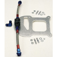Edelbrock ED8192 Single Regulator Kit + Square Bore Mount